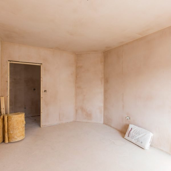 Plastering for residential developments