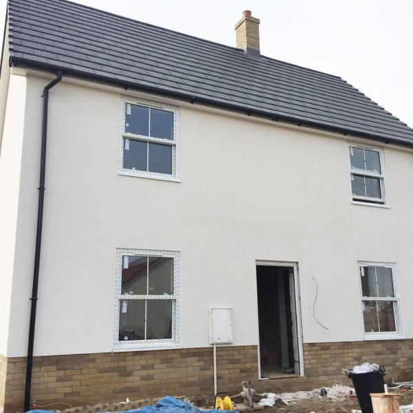 Silicon render for housing developments
