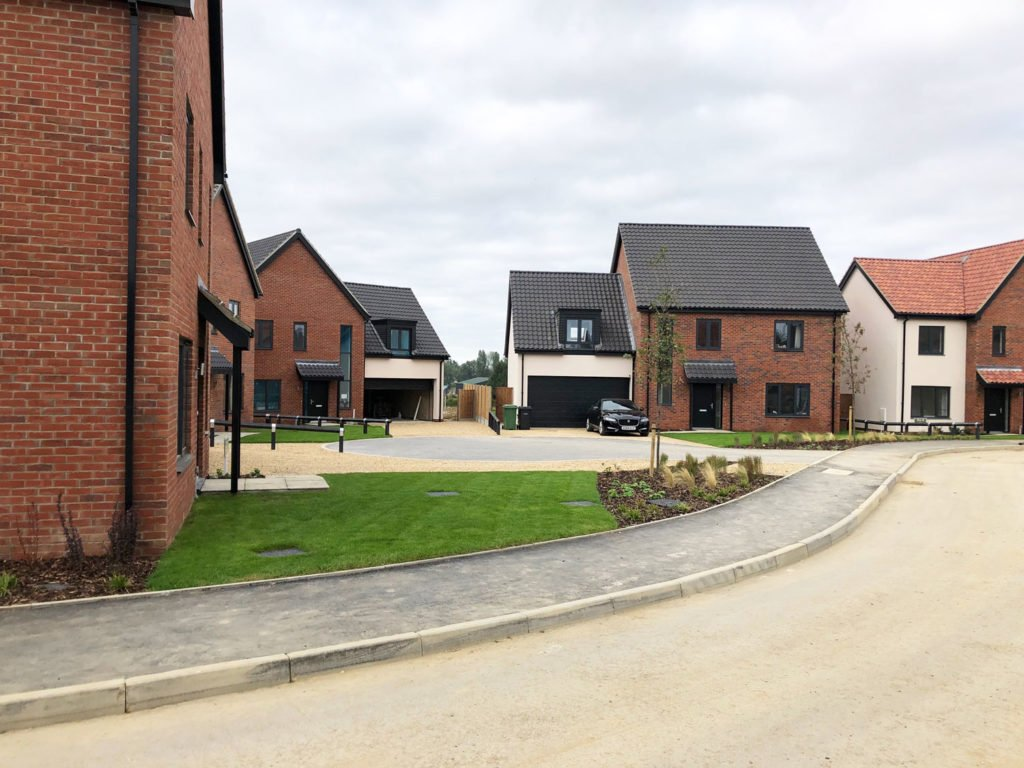 Barnham Broom housing